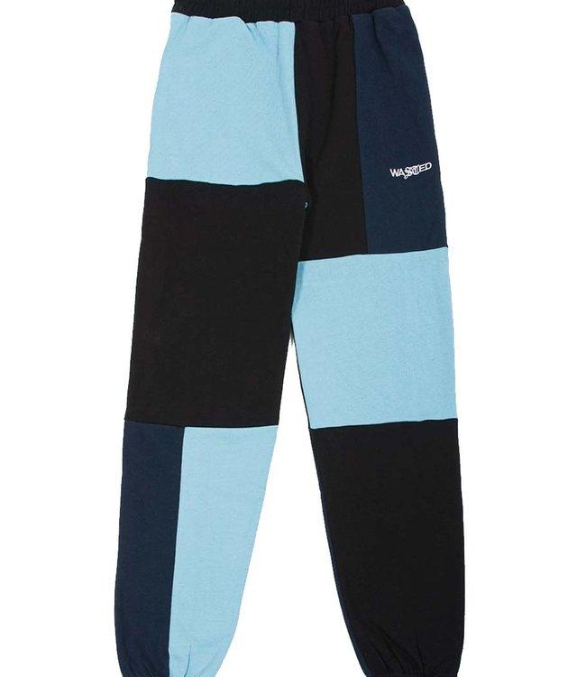 WASTED PARIS Jogging Patchwork Pool - Blue/Navy/Black