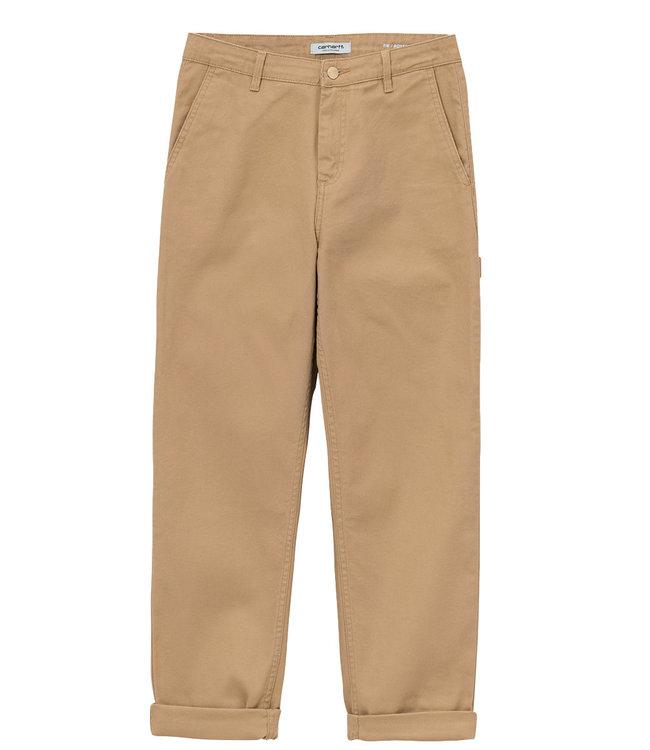 CARHARTT W' Pierce Pant - Dusty H Brown/rinsed