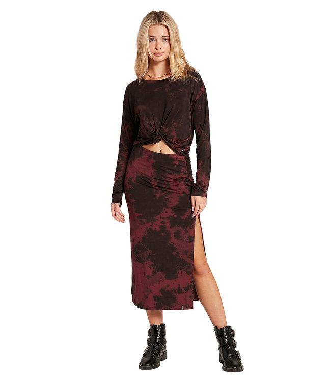VOLCOM Be Easy Babe Skirt - Auburn