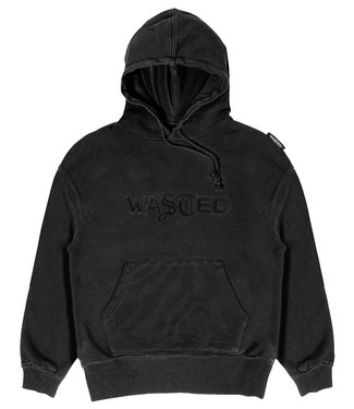 WASTED PARIS Wm Hoodie Chill Signature Faded - Black