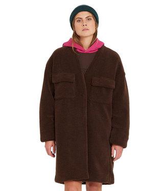 VOLCOM Eesypeesy Coat - Dark Brown