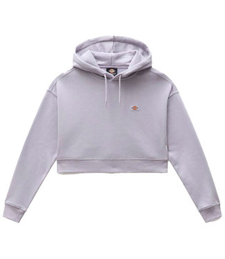 DICKIES Oakport Cropped Hoodie W - Lilac Gray