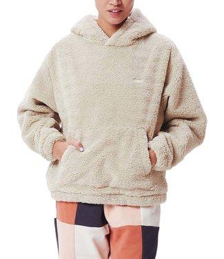 OBEY Gias Polar Fleece Hood - Silver Grey