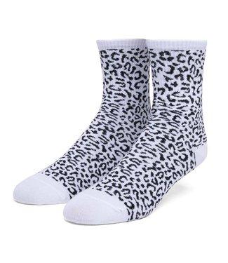 HUF Leopard 1/4 Sock - Frost Gray