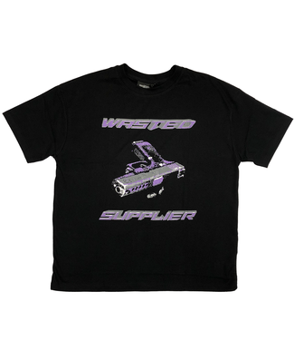 WASTED PARIS T-Shirt Chill Doom Wasted X Supplier - Black