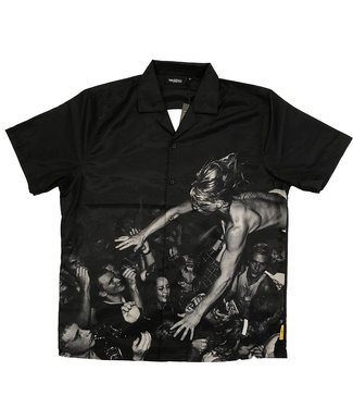 WASTED PARIS Shirt Sick Wasted X Charles Peterson - Black
