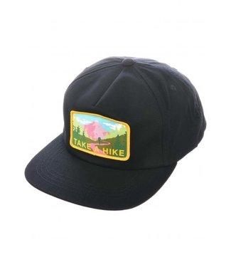 SKATE MENTAL Take A Hike Cap - Black
