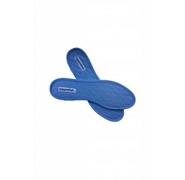 Heppiefeet kaneelzolen blauw