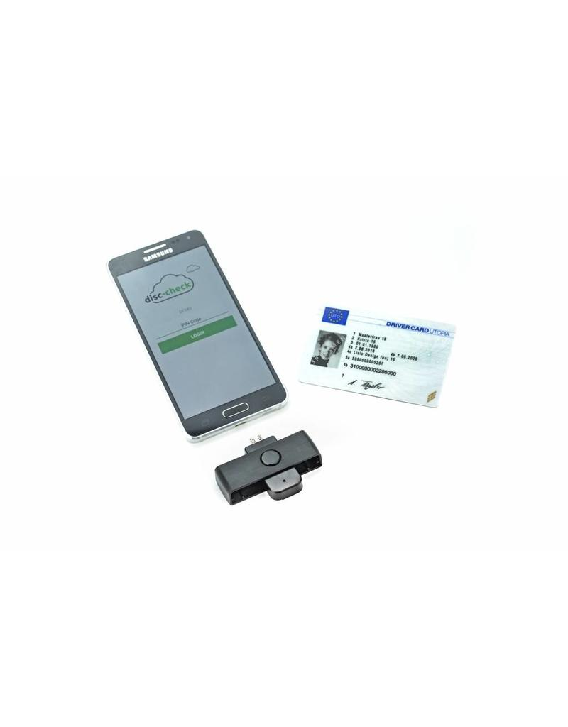 Mobile Driver Tachograph Card Reader