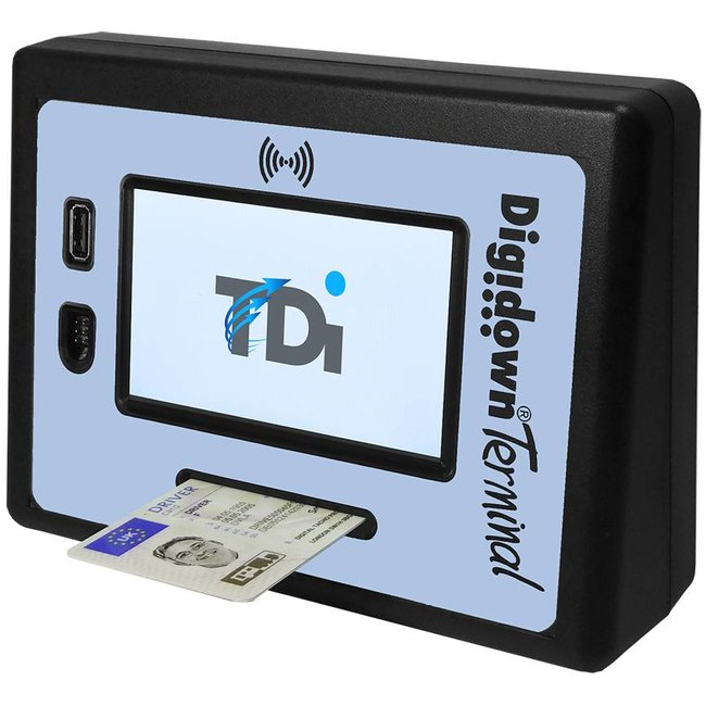 Lisle Design Digidown Terminal - 3G and GPRS Available