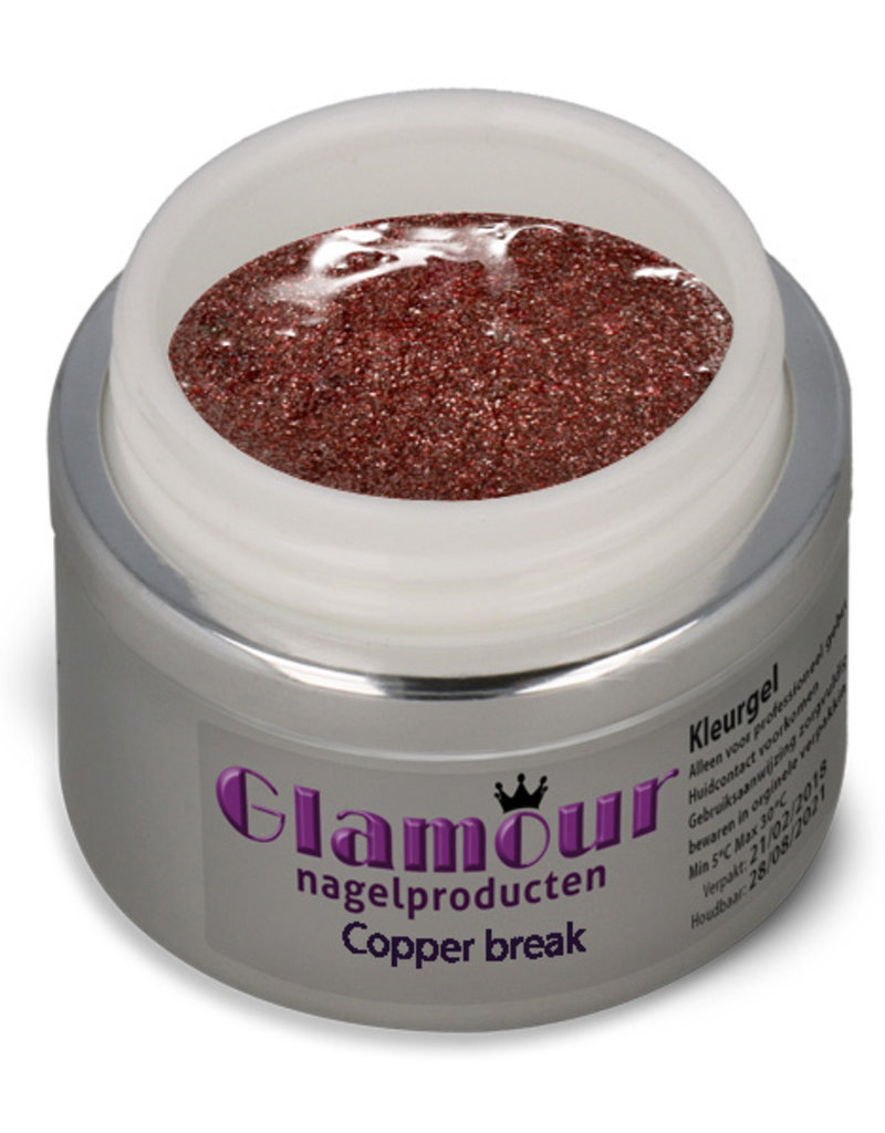 Glittergel Copper Break