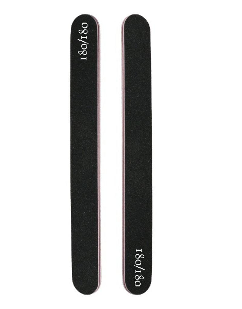 Nail File Straight 180/180 Black