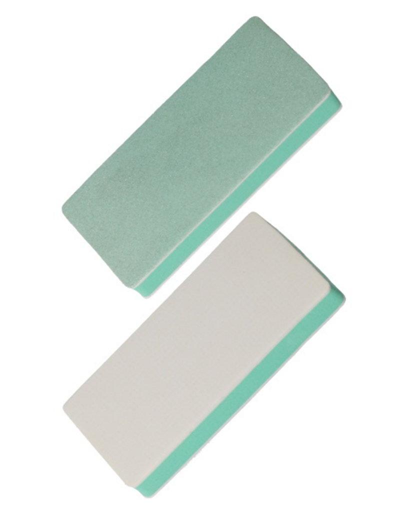 Nail File Buffing Block Green/White