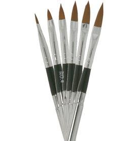 Brush Set Nailart Point 6 pcs