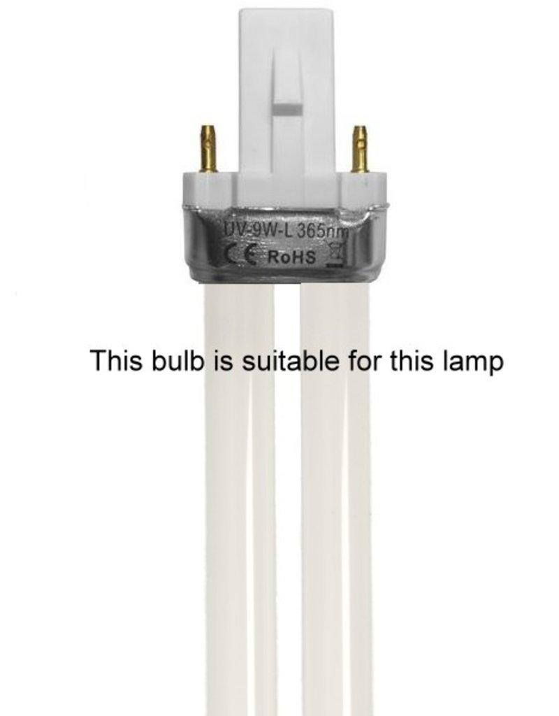 UV-Lamp Zilver 1 Buis