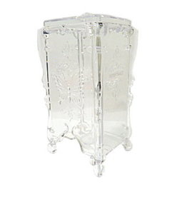 Nail Pads Holder Clear Chinese Pattern