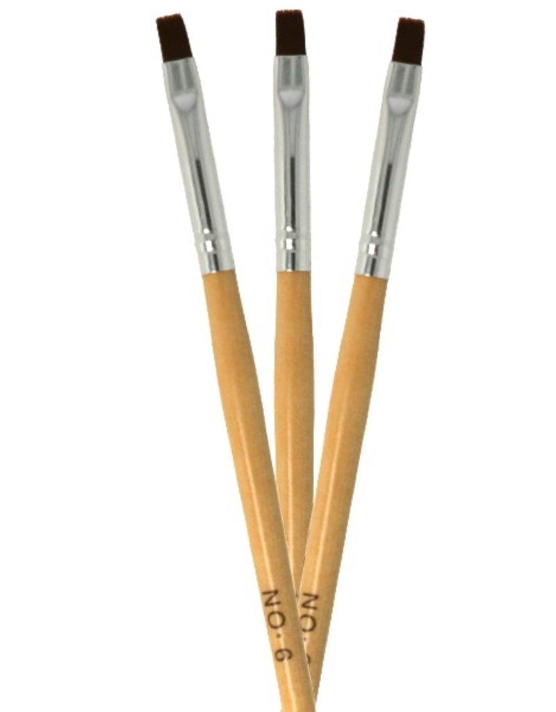Gel Brush Wood NR 6