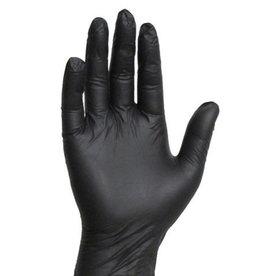 Handschoen Nitrile Zwart S 100 pcs