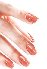 Acrylpoeder Glitter Rosewood