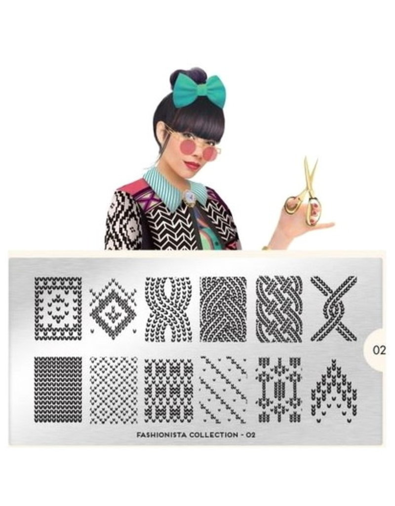 Moyou Fashionista Plate Collection 02