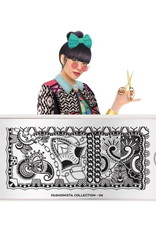 Moyou Fashionista Plate Collection 06