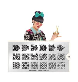 Moyou Fashionista Plate Collection 08