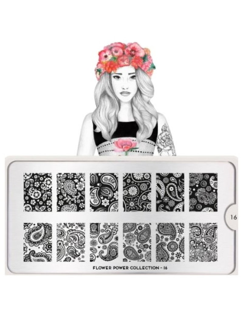 Moyou Flower Power Plate Collection 16