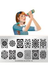 Moyou Kaleidoscope Plate Collection 06