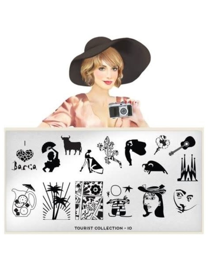 Moyou Tourist Plate Collection 10