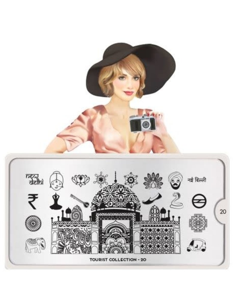 Moyou Tourist Plate Collection 20