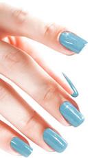 Acrylpoeder Metallic Blue