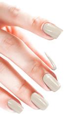 Acrylpoeder Metallic White