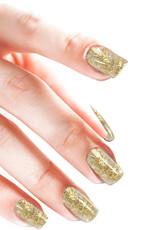 Poudre Acrylique Glitter Confetti Gold