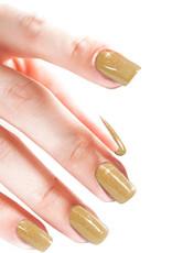 Acrylic Powder Glitter Gold AB
