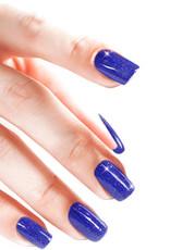 Poudre Acrylique Glitter Electric Blue