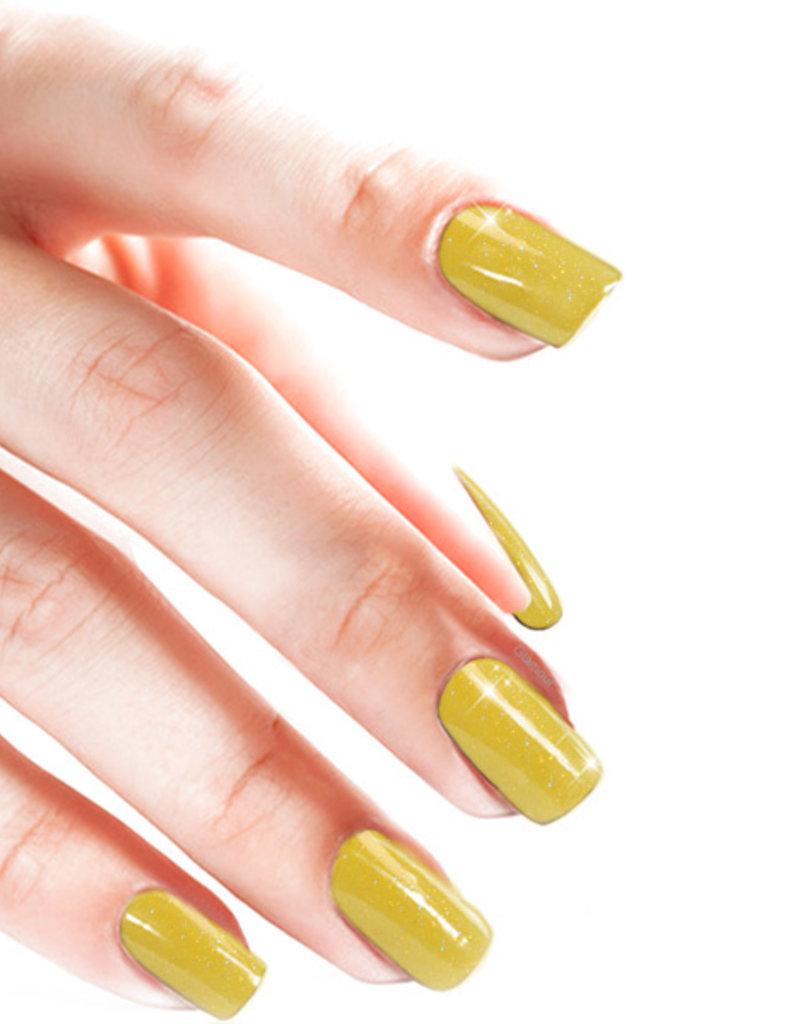Acrylpoeder Glitter Geel