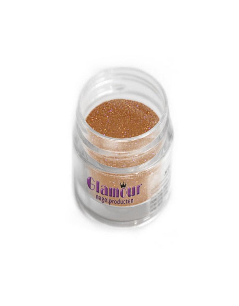 Acrylic Powder Glitter Rose Copper