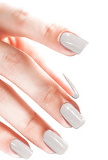 Acrylic Powder Glitter White