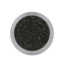 Glitterpoeder Zwart
