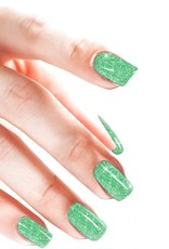 Glitterpoeder Licht Groen