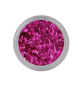 Bling Wire Flakes Fuchsia