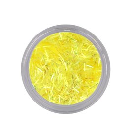 Bling Wire Flakes Light Yellow