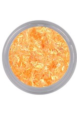 Bling Wire Flakes Bright Orange