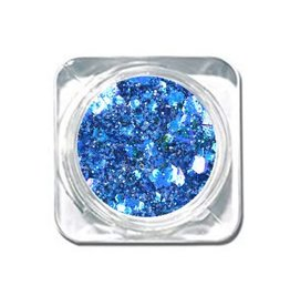 Chunky Mix Glitter Kobalt