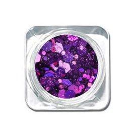 Chunky Mix Glitter Lilac