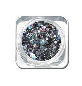 Chunky Mix Glitter Dark Diamonds