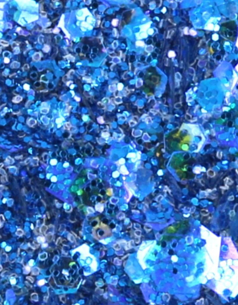 Chunky Mix Glitter Cobalt