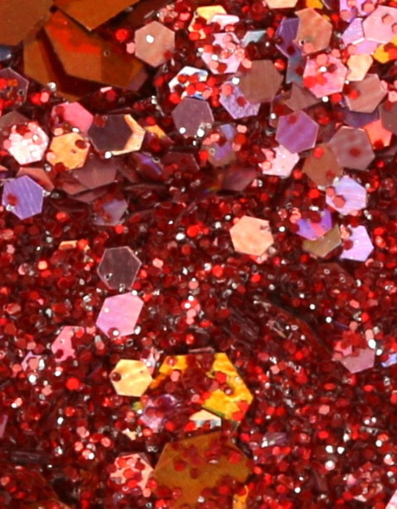 Chunky Mix Glitter Light Copper