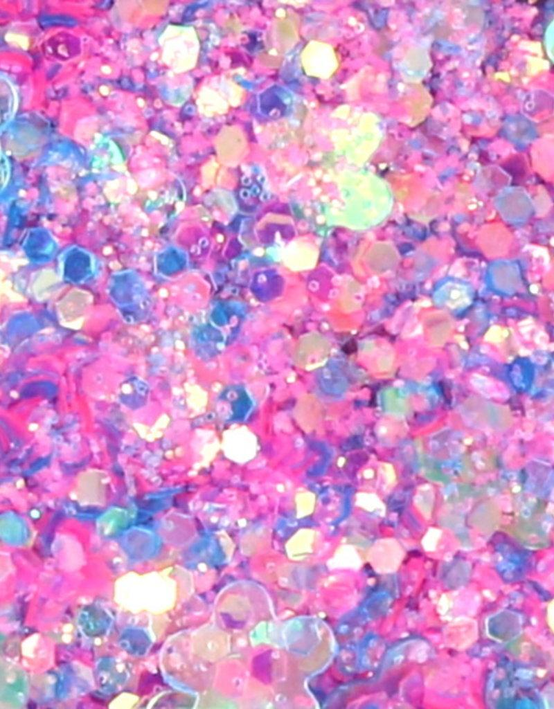 Chunky Mix Glitter Soft Purple
