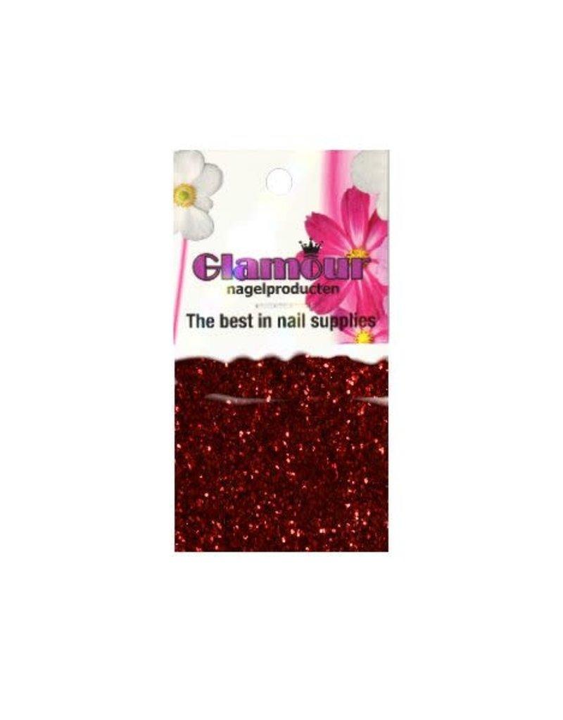 Glitterpoeder Pure Red